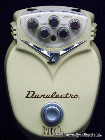 Danelectro Daddy O overdrive